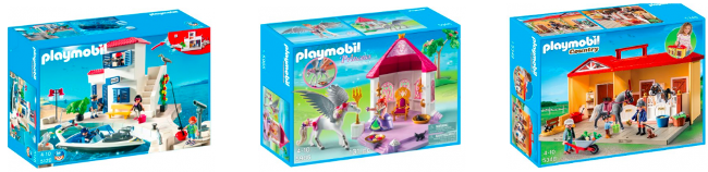 playmobil collage