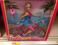 target barbie bike