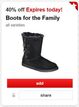 target cartwheel boots