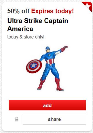 target cartwheel captain america