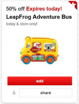 target cartwheel leapfrog bus