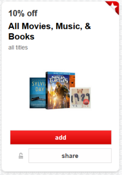 target cartwheel  movies more