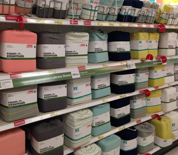 target clearance sheets 50