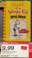target diary wimpy kid sm
