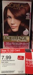 target hair color loreal