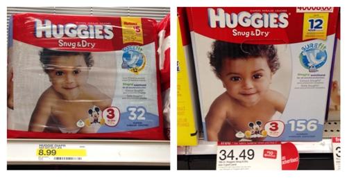 target huggies collage