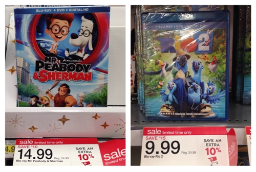 target coupons dvds