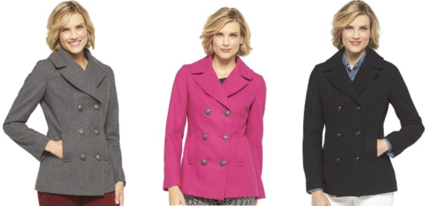 target peacoat collage