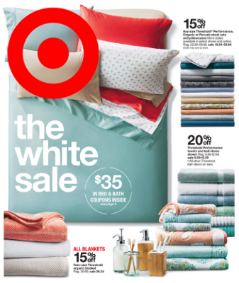 Target Mobile Coupon $10 off $50 or $25 off $100 Bedding or Bath ...