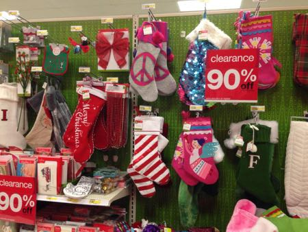Target 90 off Christmas