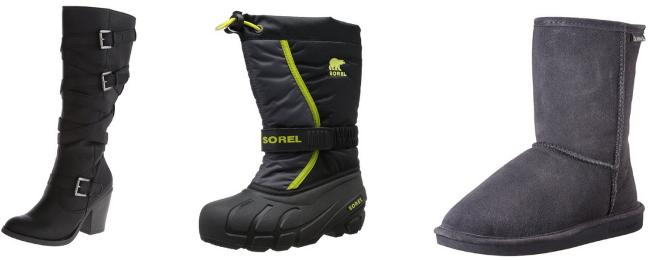 amazon boot collage