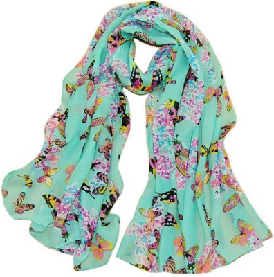 amazon butterfly scarf