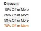 amazon discount