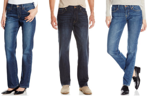 amazon lucky brand jeans collage
