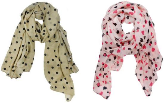 amazon scarf collage