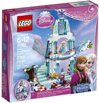 target LEGO frozen castle