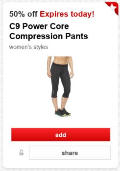 target cartwheel c9 women's pants