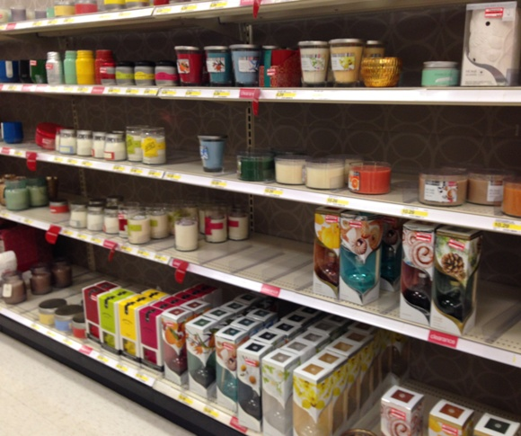 target clear candles 50