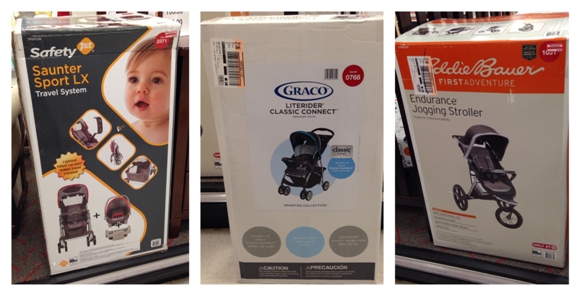 target clearance baby stroller