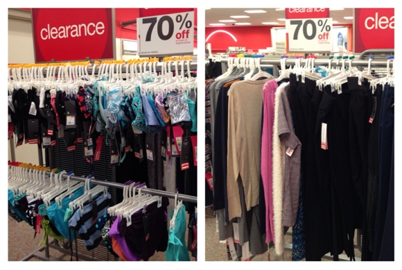 target clearance ladies wear 70