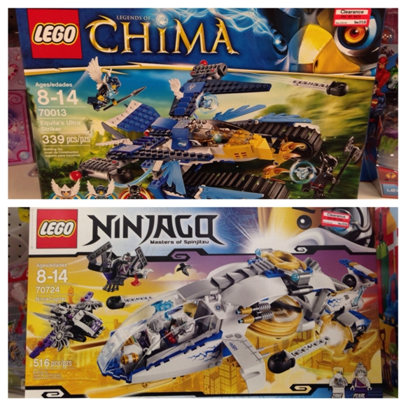 target clearance lego collage 50