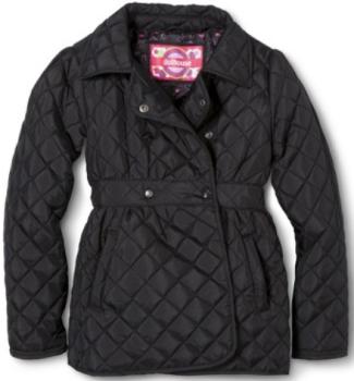 target girls coat