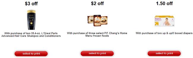 target printable coupon collage