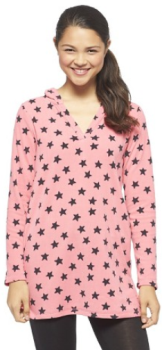 target.com women pj hooded fleece