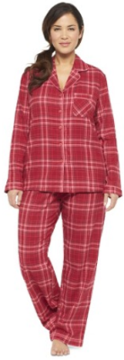 target.com women pj red o malley