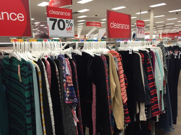 clothing 70 off target