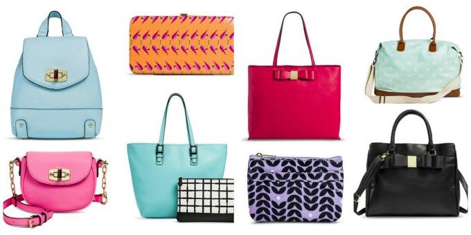 handbags target sale