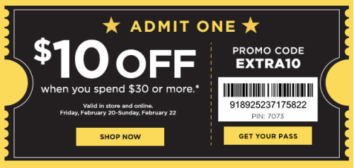 kohls coupon new