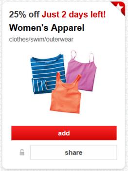 target cartwheel apparel