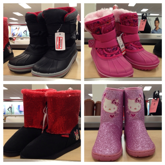 target clear kids boots 70
