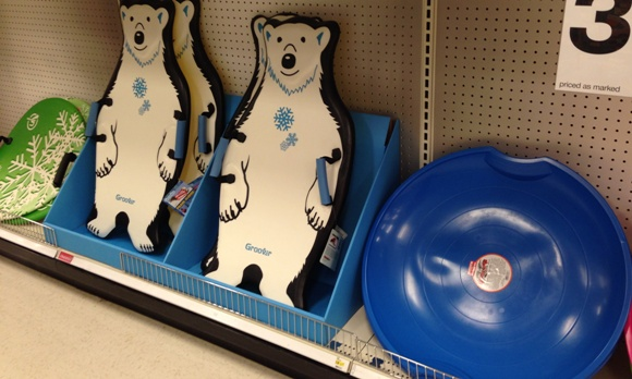target clear sleds 50
