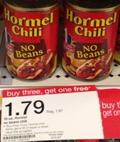 target hormel chili sm