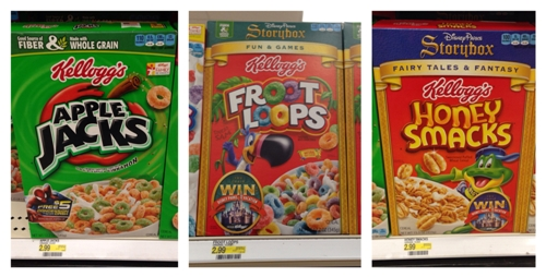 target kelloggs cereal