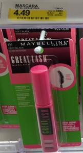 Maybelline Great Lash Mascara.