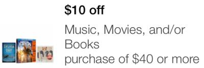 target mobile coupon music