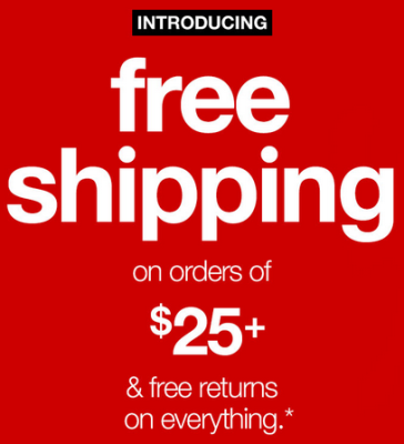 target new shipping deal