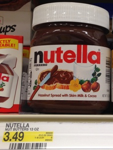 target nutella