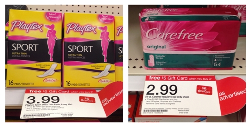 target playtex carefree collage