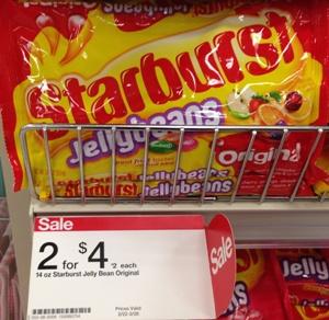 target starburst jellybeans