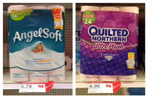 target toilet paper collage