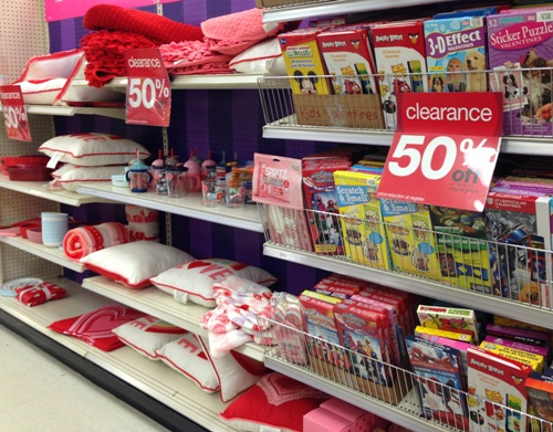 target val clearance