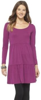 target.com babydoll knit