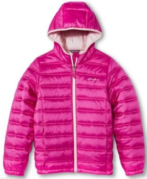 target.com girls pink jacket