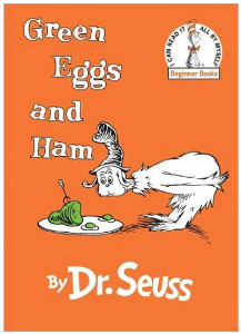 target.com green eggs book