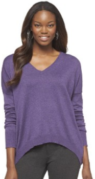 target.com sweater purple