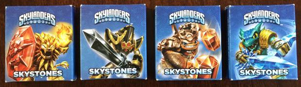 Skylanders Skytones cards